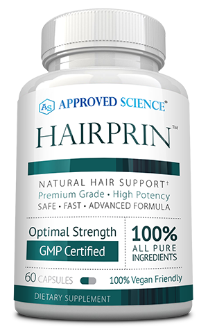 Hairprin ingredients bottle